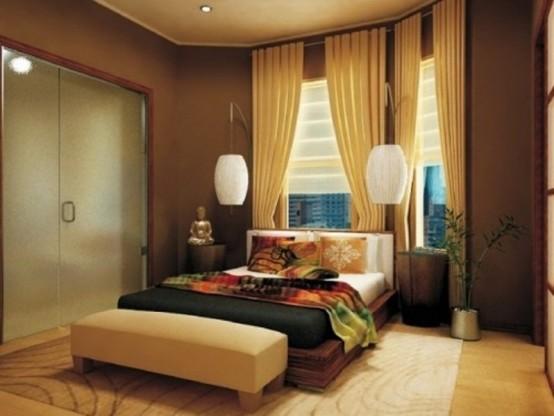 Phòng ngủ phong cách Zen 14