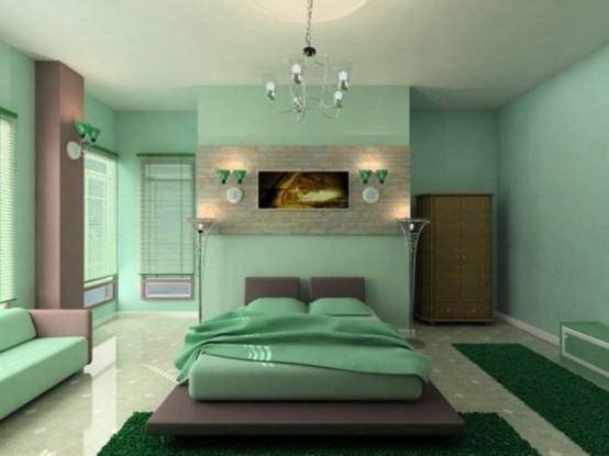 Phòng ngủ phong cách Zen 17