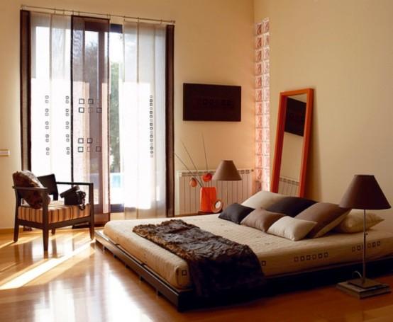 Phòng ngủ phong cách Zen 29