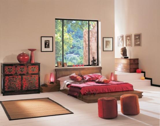 Phòng ngủ phong cách Zen 32