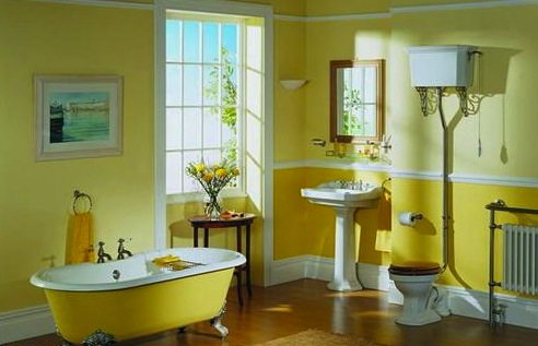Vũ điệu sắc màu trong phòng tắm (6)