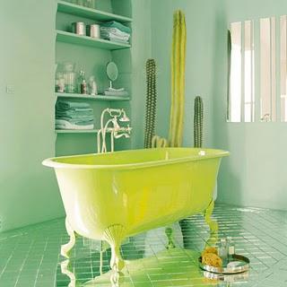 Vũ điệu sắc màu trong phòng tắm (10)