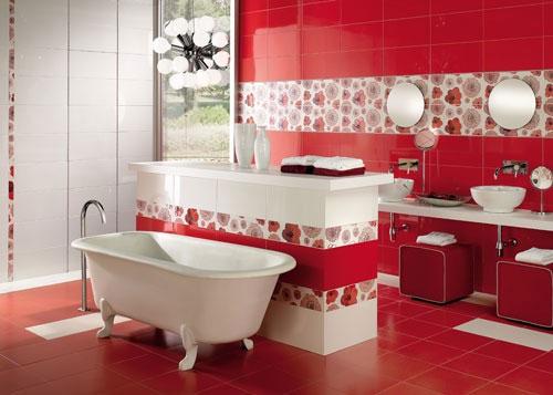 Vũ điệu sắc màu trong phòng tắm (1)