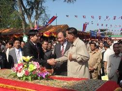 Phân bón Năm Sao khởi công nhà máy sản xuất phân bón tại Campuchia