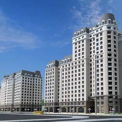 Phối cảnh Ct3- Hoàng Quốc Việt Residentials
