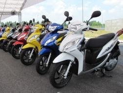 Xe ga Honda Vision ra thị trường giá tới 31 triệu đồng