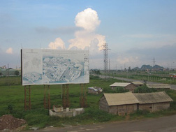 Bóng dáng của dự án đô thị thu hồi vốn tại Quốc Oai