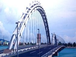 Hình ảnh cầu Rồng bắt qua sông Hàn trong tương lai