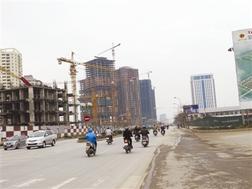 Đường bắc Hà Đông là một trong ít dự án BT được hoàn thành.