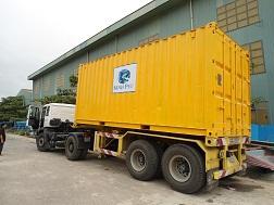 Xe container vận chuyển hàng thuỷ sản của Công Ty CP Tập đoàn Thủy sản Minh Phú. (Ảnh minh họa, nguồn Internet).