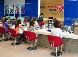 Vietcapital Bank báo lãi 130 tỷ đồng 6 tháng đầu năm, tỷ lệ nợ xấu 3,8%
