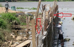 Cần Thơ: Cung đường tử thần ven sông và dự án chây ì