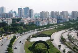 Khu đô thị Phú Mỹ Hưng hiện hữu sẽ là trung tâm của thành phố phía Khu đô thị Phú Mỹ Hưng hiện hữu sẽ là trung tâm của thành phố phía Nam