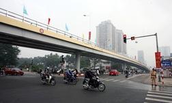 Một trong những dạng cầu vượt được xây dựng trên địa bàn Thủ đô