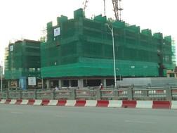 Cận cảnh tiến độ dự án Hòa Bình Green City