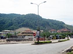 Một góc Khu kinh tế cửa khẩu Cha Lo.