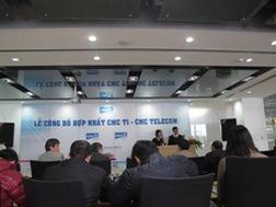 CMG: Hợp nhất 2 công ty con CMC TI và CMC Telecom