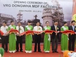 Khánh thành Nhà máy gỗ MDF lớn nhất châu Á tại Việt Nam