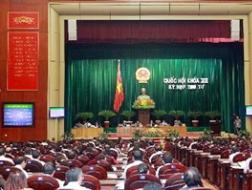 Quốc hội thông qua dự toán ngân sách Nhà nước năm 2013