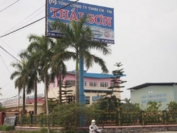 """Đại bản doanh của """"đại gia"""" sắt thép Phạm Văn Thụ đã bị Nguyễn Hà Quảng thâu tóm."""