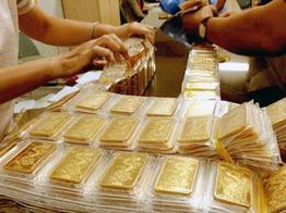 Giá vàng SJC giảm xuống thấp nhất hai tháng