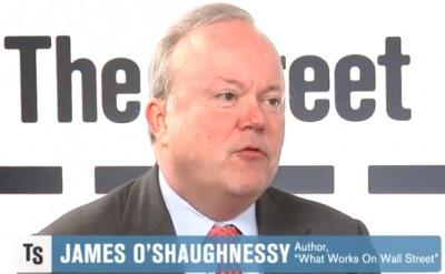 """15. James O'Shaughnessy: """" Hoạt động phố Wall"""""""