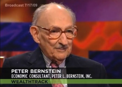 "4. Peter Bernstein: ""Against The Gods: The Remarkable Story Of Risk"""