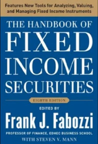 """8. Frank J. Fabozzi: """"Cẩm nang chứng khoán thu nhập cố định"""""""