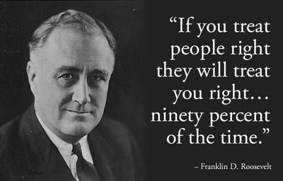 8. Frankiln D. Roosevelt