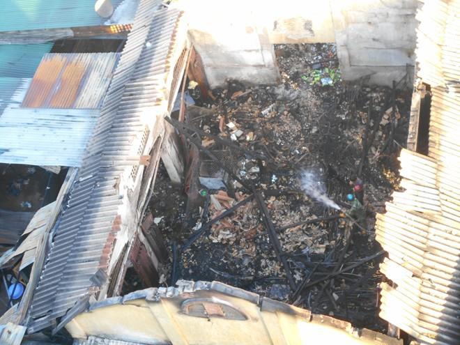 Cháy chợ giữa đêm, thiệt hại hơn 10 tỷ đồng