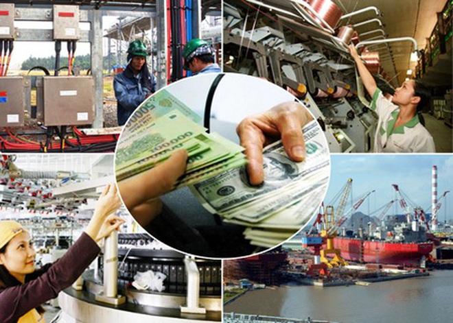Bức tranh kinh tế 6 tháng đầu năm qua các con số