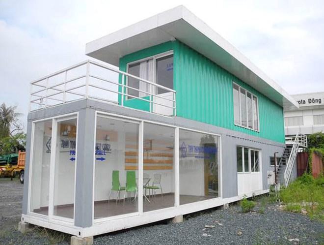 Độc đáo nhà container chỉ 100 triệu đồng tại Việt Nam