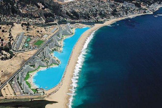 Bể bơi 1 tỷ đô lớn nhất thế giới