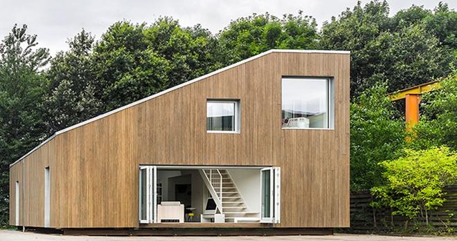 Căn nhà siêu đẹp làm từ container