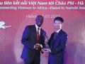 Đường bay thẳng đầu tiên nối Việt Nam và Châu Phi chính thức được khai trương