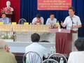 Cử tri TP Nha Trang chất vấn bí thư Tỉnh ủy