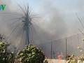 Cháy công ty may, hơn 1.000 tấn vải thun bị thiêu rụi