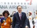 Tổng thư ký LHQ Ban Ki-Moon đã đến Việt Nam