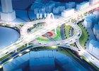 25 tỷ đồng cho kiến trúc cảnh quan cầu vượt 3 tầng Ngã ba Huế