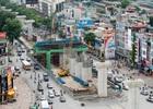 Toàn cảnh tiến độ thi công tuyến đường sắt đô thị Cát Linh - Hà Đông
