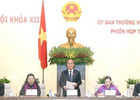 Khai mạc Phiên họp thứ 33 của Ủy ban Thường vụ Quốc hội