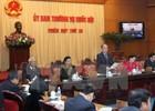Ủy ban Thường vụ Quốc hội cho ý kiến về hai dự án Luật