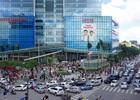 Cảnh chen lấn, hỗn loạn trong ngày mở cửa Lotte ở Hà Nội
