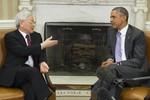Tổng Bí thư Nguyễn Phú Trọng hội đàm với Tổng thống Obama