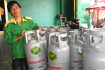 Giá gas tăng 1.500 đồng/bình từ 1/5