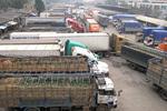 Ùn ứ hàng xuất khẩu tại cửa khẩu Tân Thanh vì bão tuyết