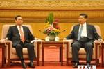 Ông Lê Hồng Anh hội kiến Chủ tịch Trung Quốc Tập Cận Bình