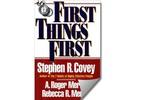 [Sách hay] First Thing First: Tư duy tối ưu