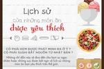 [Infographic] Lịch sử của những món ăn được yêu thích