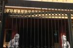 Nhan nhản sư tử đá canh cổng công sở: Do Tỉnh ủy, HĐND, UBND tỉnh... 'kính tặng'